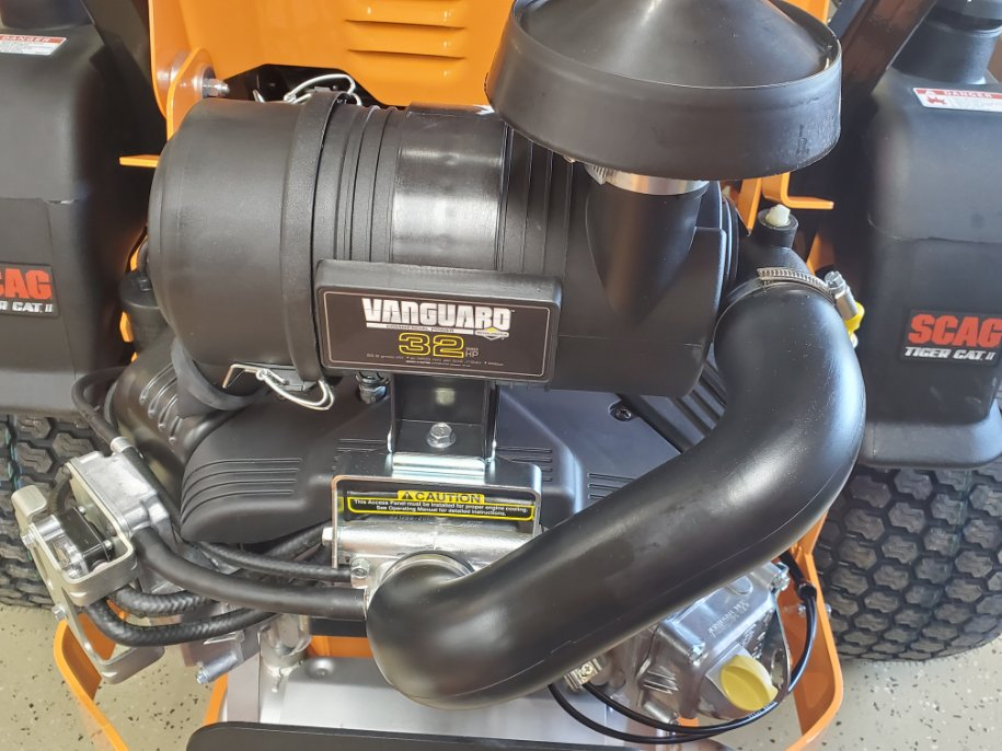 Tiger Cat II 32hp Vanguard Engine Option