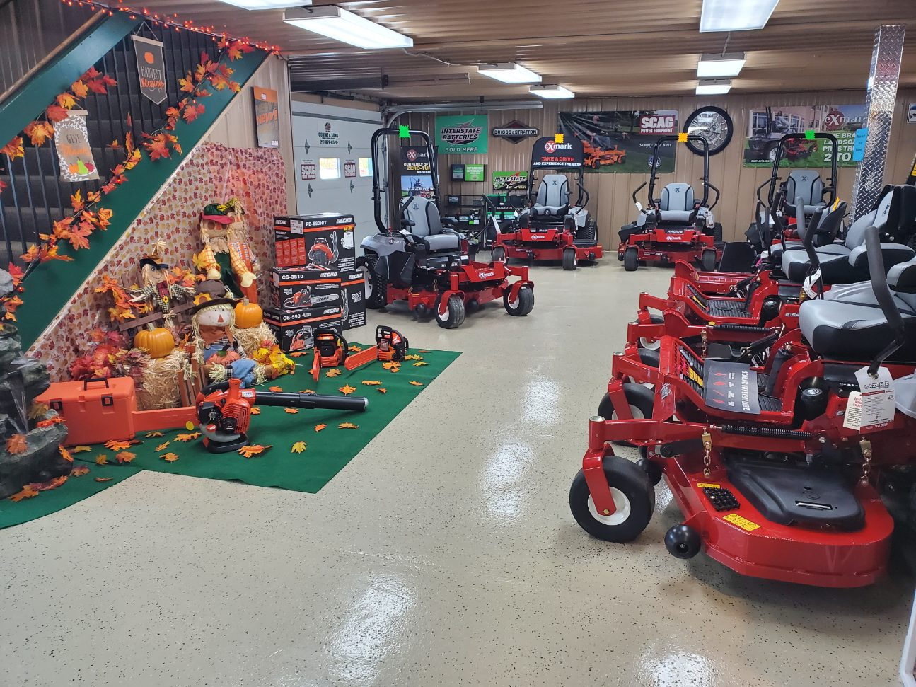 Exmark Mowers Fall